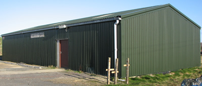Uyeasound Galley Shed